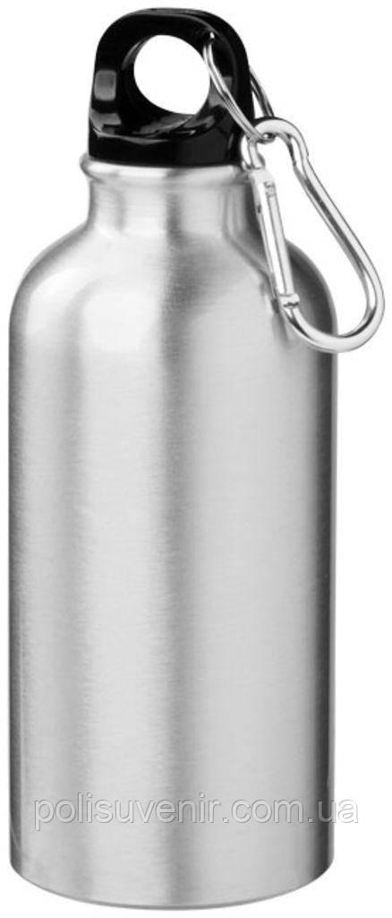 Спортивна пляшка з карабіном 600мл