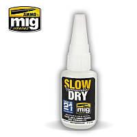Цианоакрилатный клей 20 мл. AMMO MIG A.MIG-8013