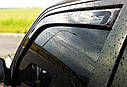 Ветровики вставные для TOYOTA COROLLA VERSO (2004-2009), фото 5
