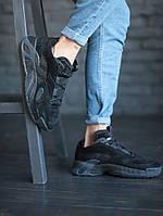Мужские зимние кроссовки Adidas Yeezy Streetball Термо ( реплика)