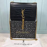 Женская сумка клатч через плечо Yves Saint Laurent YSL реплика