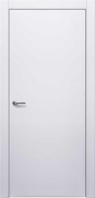 Крашенные двери модель ДП. Полотно+коробка+1 к-т наличников, срощенный брус сосны
