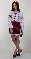 """Батистовая блуза для женщины """"Розы"""""""