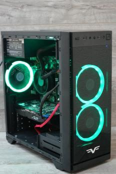 Игровой компьютер Intel Core i3-3220 / 8 RAM / 500 HDD / Radeon RX 580 4GB