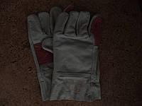 Перчатки спилковые комбинирванные с усиленним наладонником