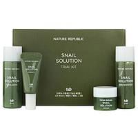 Набор улиточных средств Nature Republic Snail Solutions Trial Kit