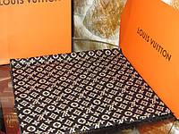 Стильный брендовый мужской кашемировый двусторонний шарф Луи Виттон премиум класс