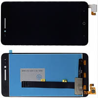Дисплей модуль ZTE Blade A610 в зборі з тачскріном, чорний