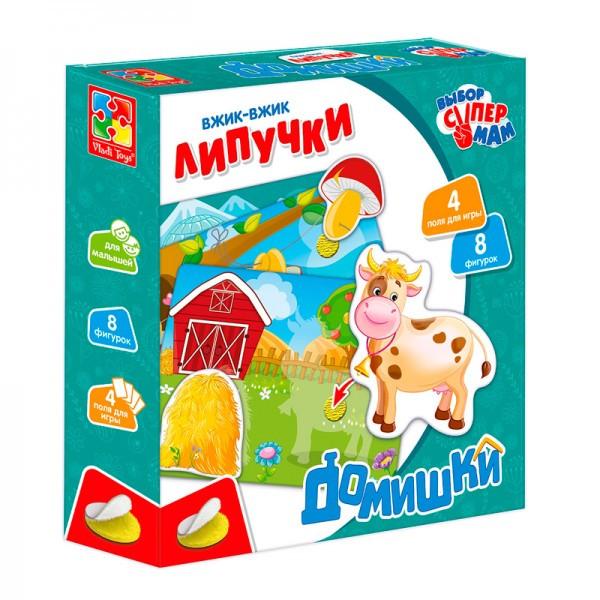 "Вжик-вжик Липучки ""Домишки"" (рус)"