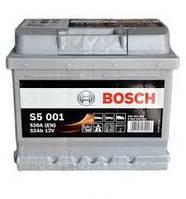 Аккумуляторная батарея (52 А*ч) Renault Logan (Bosch 0092S5001)