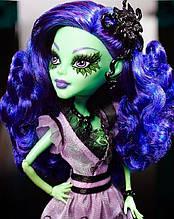 Кукла Monster High Аманита Найтшейд (Amanita Nightshade) Мрак и Цветение Монстер Хай Школа монстров