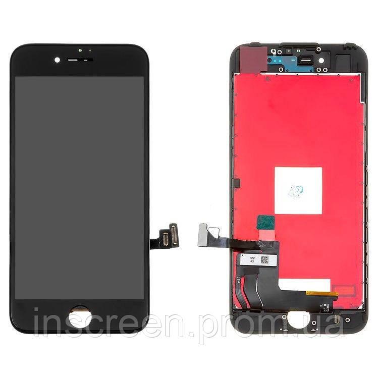 Экран (дисплей) Apple iPhone 7 с тачскрином (сенсором) черный, фото 2