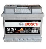 Аккумуляторная батарея (52 А*ч) Renault Symbol (Clio 2) (Bosch 0092S5001)
