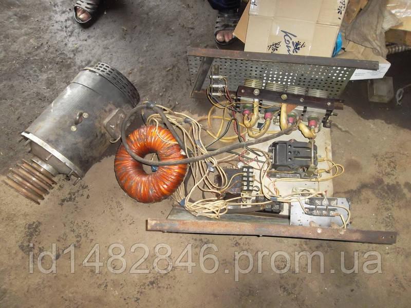 Привод с мотором для роботы токарного станка от 220В