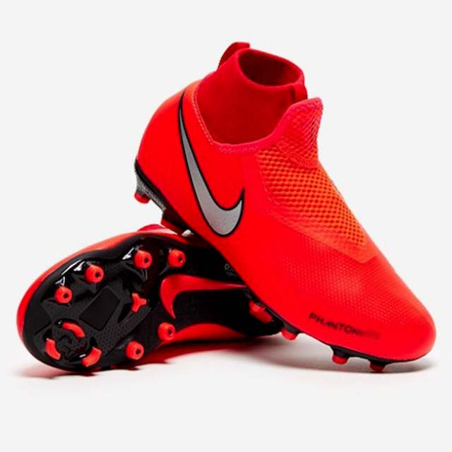 Бутсы детские Nike Phantom VSN Academy DF FG/MG Junior 600 AO3287 600