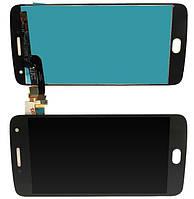 Дисплей Motorola XT1684, XT1685, XT1687 Moto G5 Plus модуль в сборе с тачскрином, черный