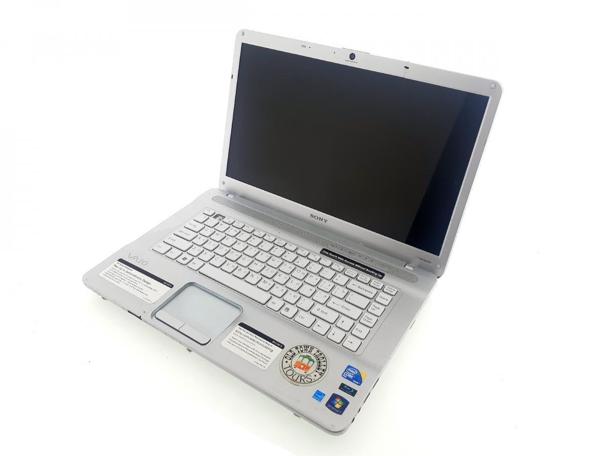 "Б/У Ноутбук Sony PCG-7184 / 15.6"" / Intel Core 2 Duo T6600 / 2 RAM / 160 HDD / Intel HD"
