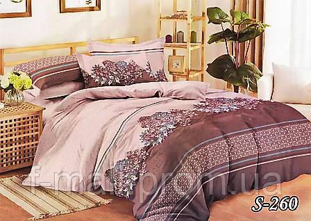 Комплект постельного белья Тет-А-Тет ( Украина ) Сатин полуторное (S-260)