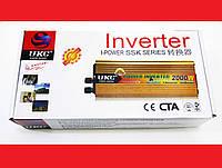Инвертор 2000W 24V Преобразователь тока AC/DC, фото 1