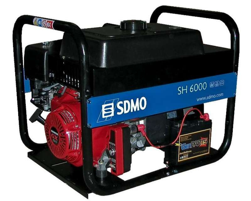 ⚡SDMO SH 6000 E (6 кВт)