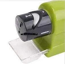 Мощная электрическая Ножеточка Swifty Sharp, электрическая точилка для ножей и ножниц на батарейках, фото 2