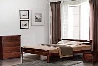 Кровать Ольга. Деревянная кровать с щита бука