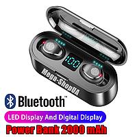 Беспроводные сенсорные Bluetooth наушники RT179 TWS. Бездротові вакуумні навушники. Беспроводні наушники