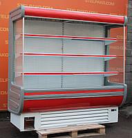 Холодильная горка «Технохолод Аризона» 2.0 м. (Украина), LED - подсветка, Б/у