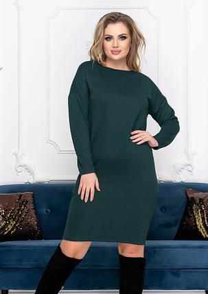 """Свободное платье большого размера """"Стефани""""  Батал, фото 2"""