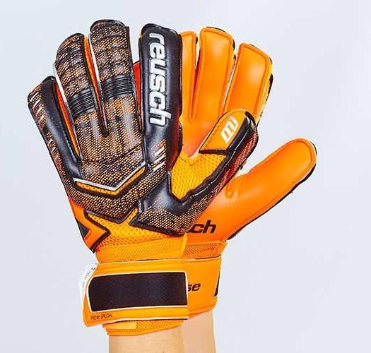 Рукавички воротарські юніорські з захисними вставками на пальці FB-882B-2 REUSCH