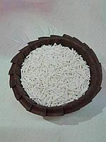 Посыпка  вермишель белая, 50 грамм