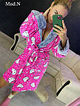 "Женский розовый халат ""Hello kitty"", фото 2"