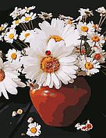 Художественный творческий набор, картина по номерам Ромашки в кувшине, 50x65 см, «Art Story» (AS0648), фото 1