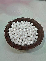 Посыпка кондитерская белый жемчуг, 7 мм