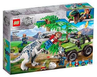 Конструктор Нападение Тираннозавра Индоминус рекса (аналог LEGO Jurassic World)