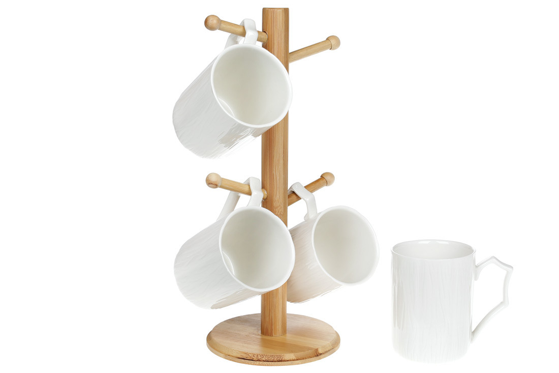 Чайный набор на подставке 5 предметов Naturel Bona Di 949-201