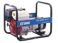 Однофазный бензиновый генератор SDMO HX 6000 (6 кВт)