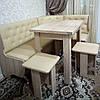 Кухонный уголок Адмирал с раскладным столом и табуретами, фото 5