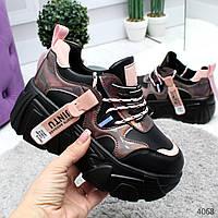 Женские кросовки на високой подошве