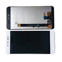 Дисплей модуль Xiaomi Redmi Note 5A в зборі з тачскріном, 2/16, 3 отвори, білий