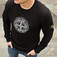 Толстовка мужская Stone Island свитшот черный