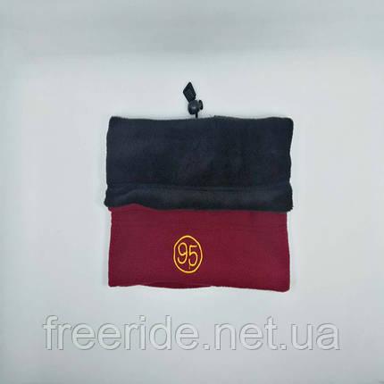 Зимний бафф, теплый шарф-труба или шапка (95), фото 2