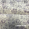 Льняная ткань с фиолетовыми цветами, 100% лен, 14с211-51-2, фото 6