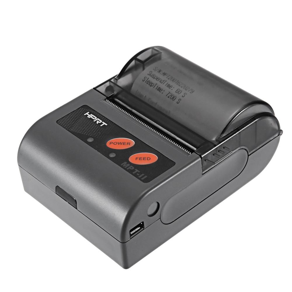 ✅Мобильный принтер чеков HPRT MPT-2 (Bluetooth+USB) - 58 мм