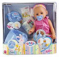 Кукла Baby Born Pink с аксессуарами и музыкальным горшком