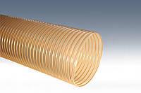 Гофрированный воздуховод PUR (ПУР) 110мм 0,4мм
