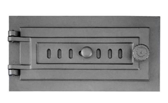 Чугунные дверцы для зольника DPK7R 398x203