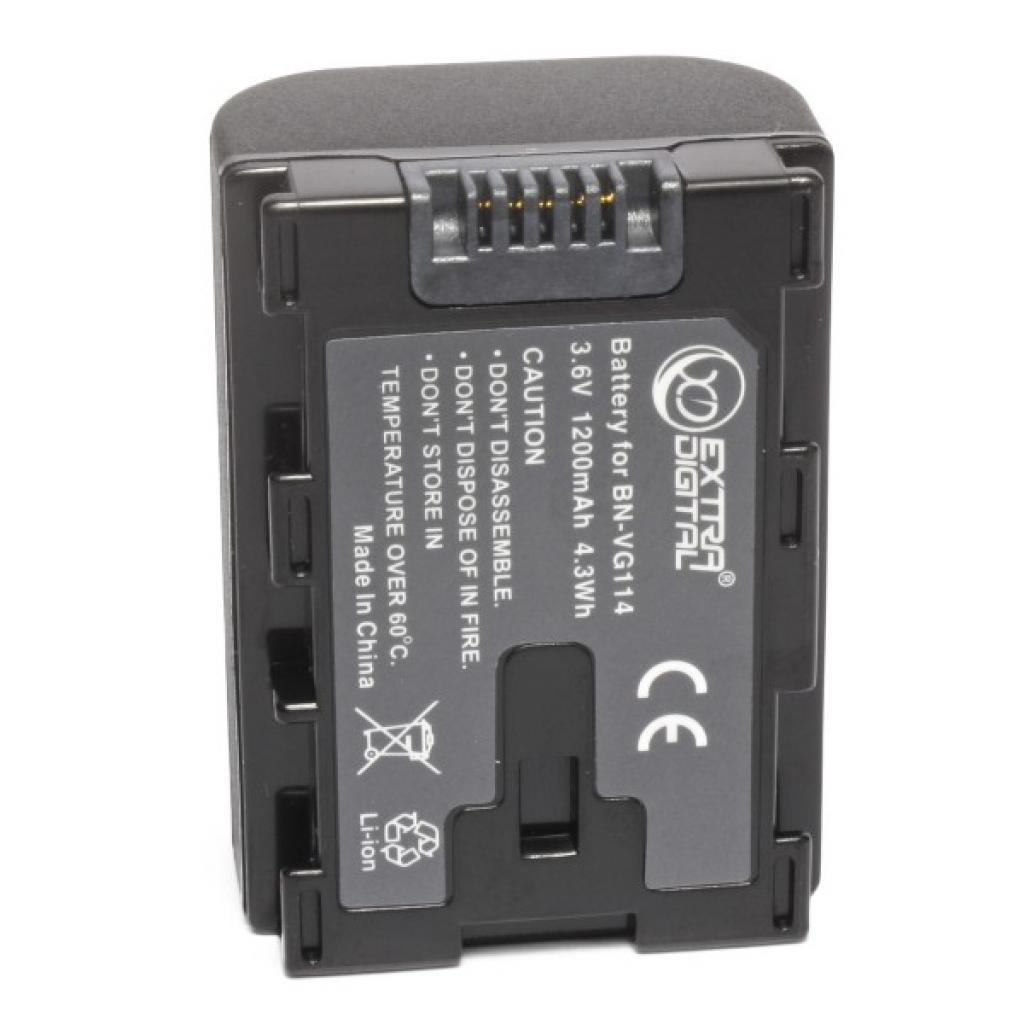 Аккумулятор к фото/видео EXTRADIGITAL JVC BN-VG114 (chip) (BDJ1310)