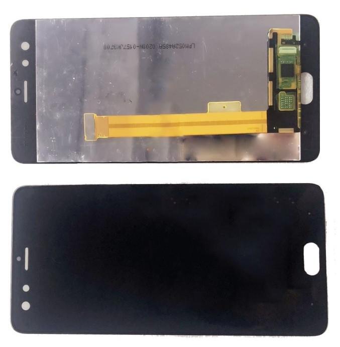 Дисплей модуль ZTE Nubia z17 mini в зборі з тачскріном, чорний