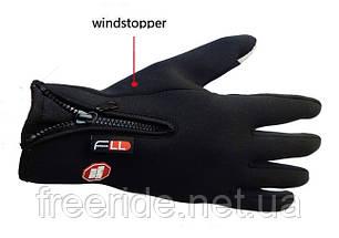 Теплые перчатки FLL для сенсорных устройств WindStopper (L), фото 2